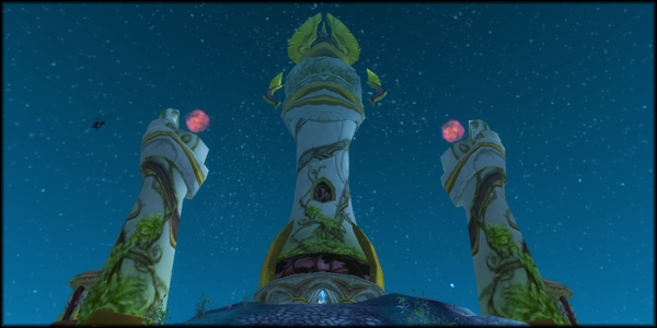 Windrunner Spire in the Ghostlands.