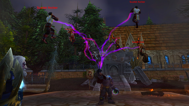 DK Nazgrim playing at scarlet monastery