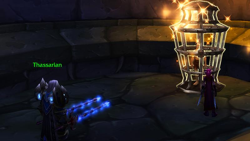 DK rescuing Koltira