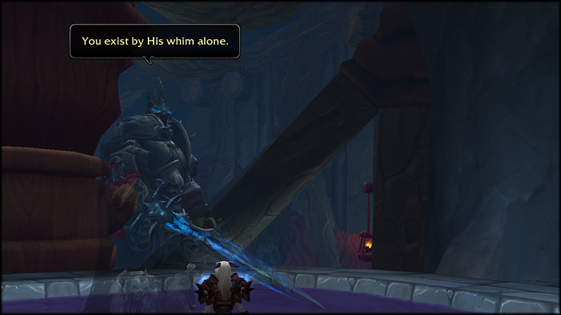 memory of Arthas inside Thunder Totem