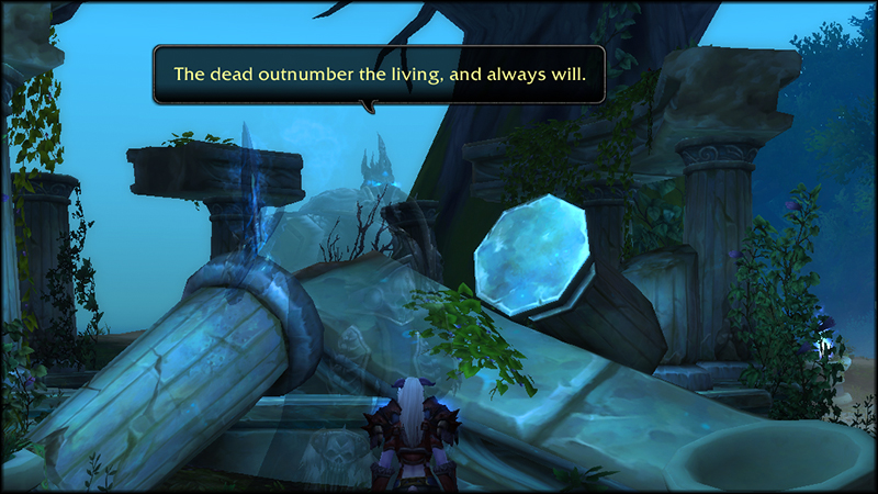 Memory of Arthas in Azsuna