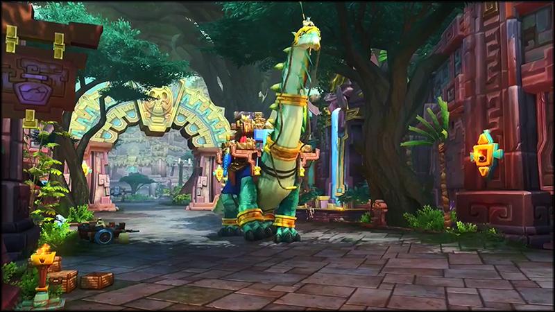 13-dinosaur mount